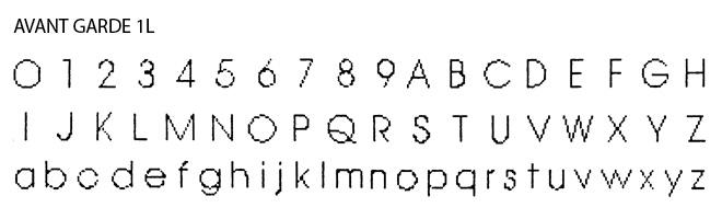 Inside Band Fonts